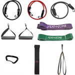 Home exercise set X - Strong | Fitness workouts | Featzone