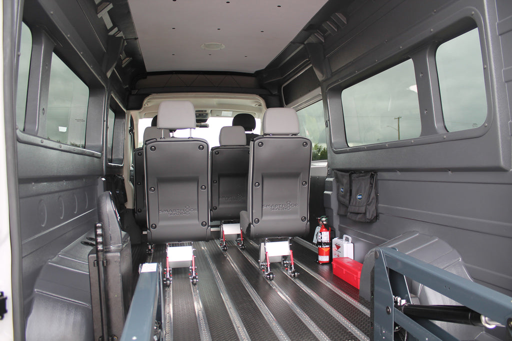 "Ram ProMaster High Roof (WB 159"") - Window Van Wall Liner Package (Grey)"