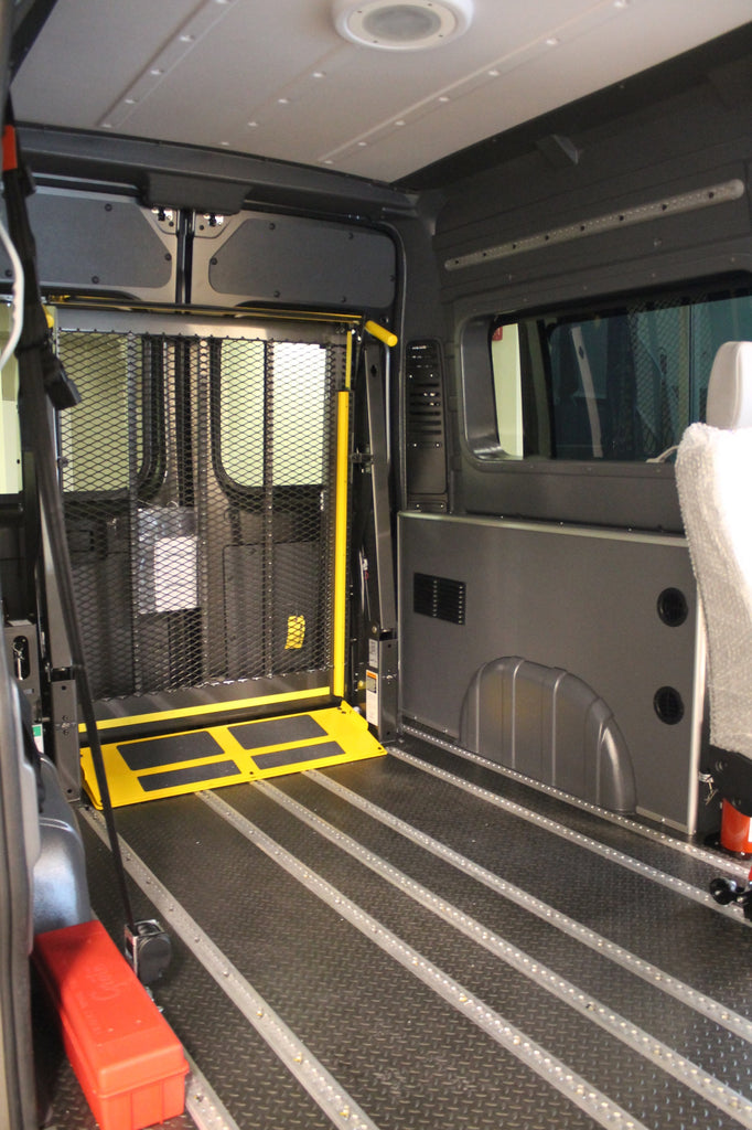 "Ram ProMaster High Roof Dual Door (WB 136"") - Window Wall Liner Package"