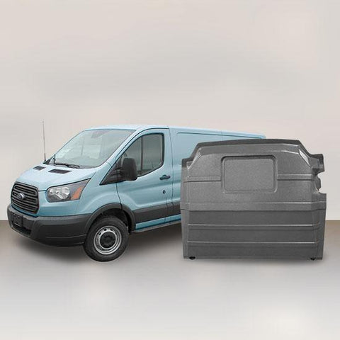Ford Transit Low Roof - Solid Partition