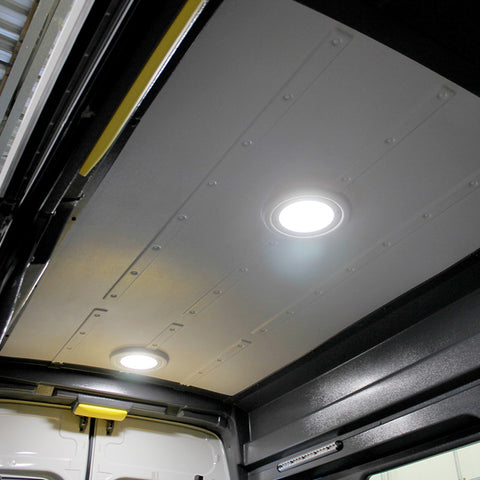 "Ford Transit High Roof (WB 148"") - Molded Ceiling Panel with Trim Pieces"