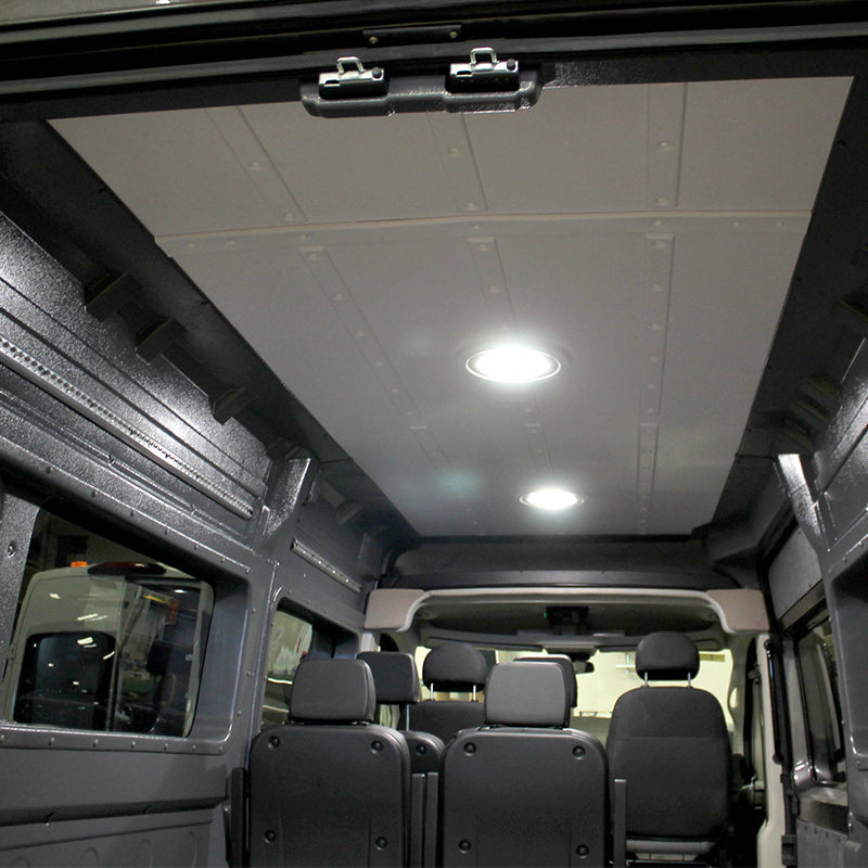 "Ram ProMaster High Roof Single Sliding Door (WB 159"") - Molded Ceiling Panel with Trim Pieces"