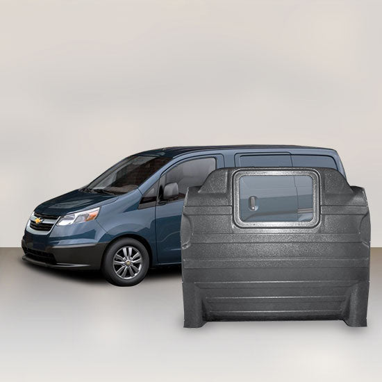 Chevrolet City Express - Window Partition