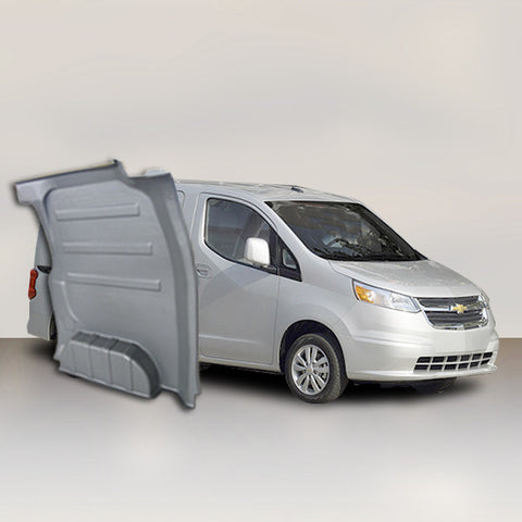 Chevrolet City Express - Solid Wall Liner Package (Grey)