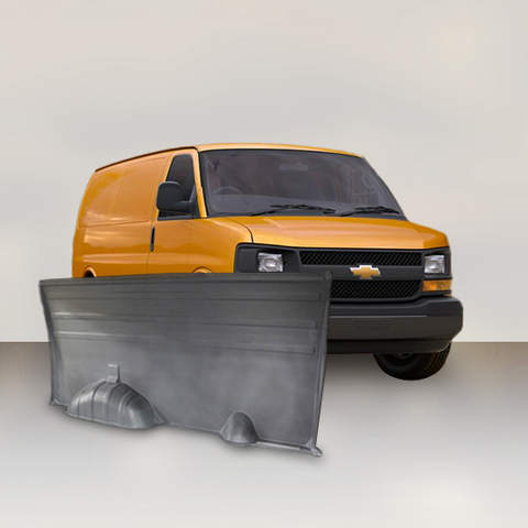 Chevrolet Express - Solid Wall Liner Package (Grey)