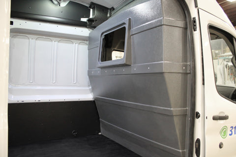 Ford Transit High-Roof Window Partition (GREY)
