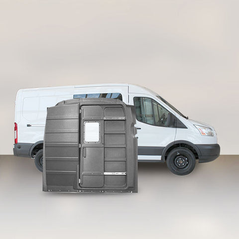 Ford Transit Mid Roof Sliding-Door Partition - Window