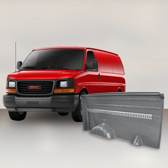 GMC Savana - Solid Wall Liner Package with E-Track