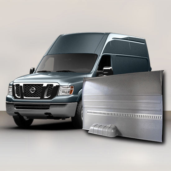 Nissan NV High Roof - Solid Wall Liner Package with E-Track