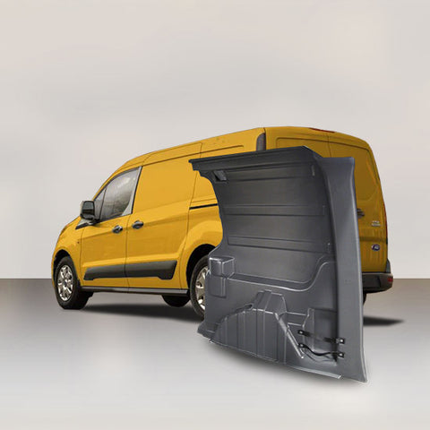 Ford Transit Connect LWB - Solid Wall Liner Package (Grey)