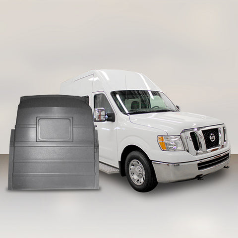 Nissan NV High Roof - Solid Partition (Grey)