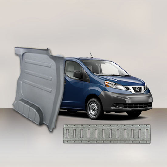 Nissan NV 200 - Solid Wall Liner Package with E-Track