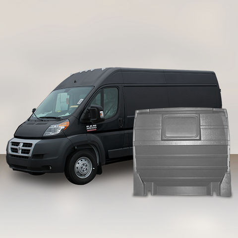 Ram ProMaster High Roof - Solid Partition