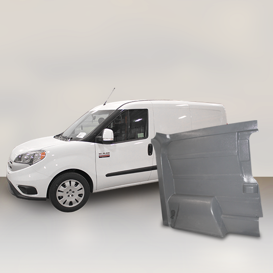 Ram ProMaster City - Solid Wall Liner Package