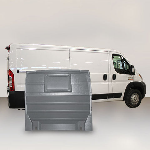 Ram ProMaster Low Roof - Solid Partition (Grey)