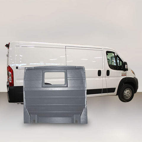 Ram ProMaster Low Roof - Window Partition (Grey)