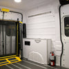 "Ram ProMaster High Roof Dual Door (WB 136"") - Solid Wall Liner Package with E-Track"