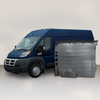 "Ram ProMaster High Roof Single Door (WB 159"") - Solid Wall Liner Package"