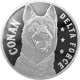 Conan the Hero Dog 1oz Silver Coin