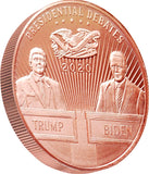 2020 POTUS Debates 1oz Copper Coin
