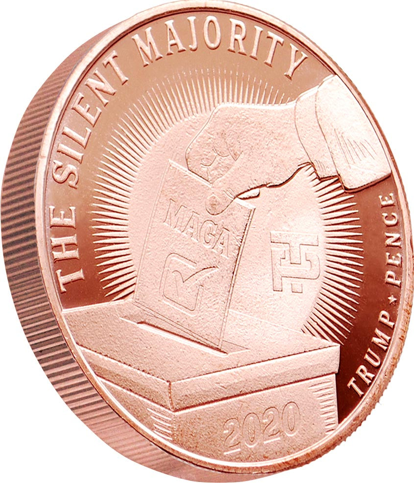 The Silent Majority 1oz Copper Coin