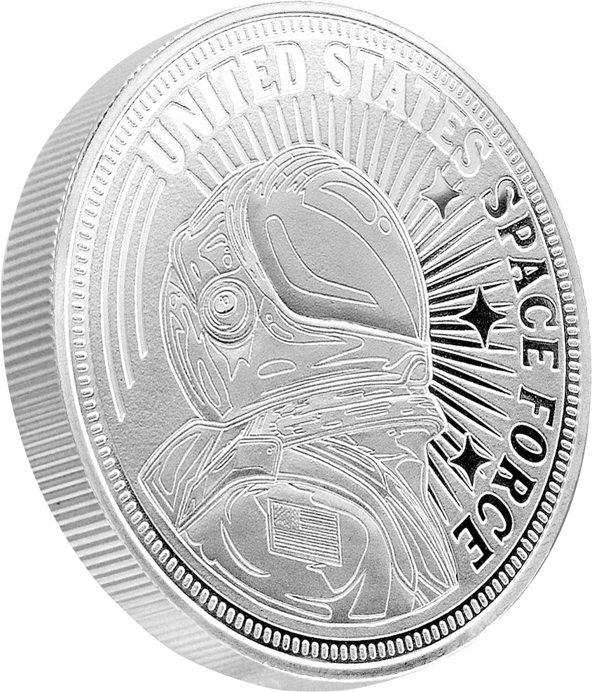 United States Space Force 1oz SIlver Coin