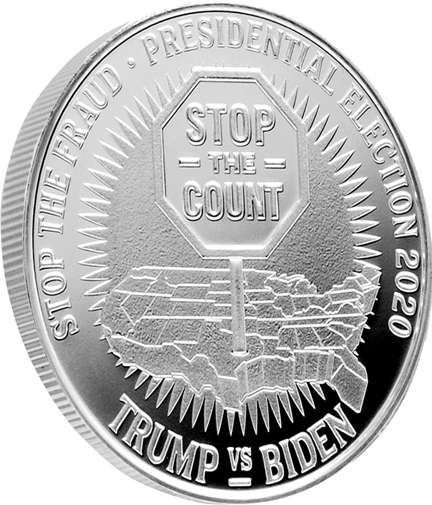 Stop the Count 1oz Silver Coin