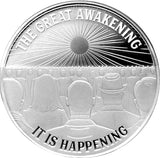 Limited Edition The Great Awakening 1oz Silver (PRESELL)