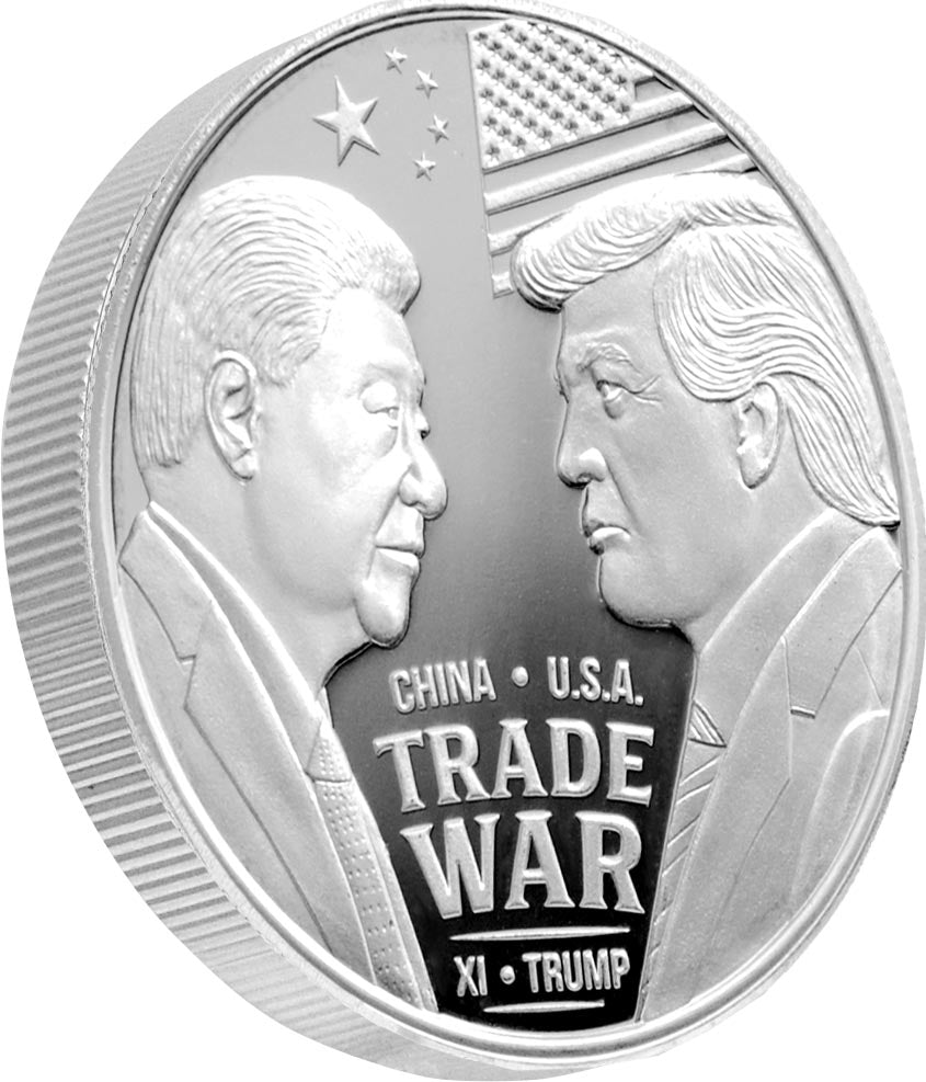"Extremely Limited 2oz ""Trade Wars Silver Coin"""