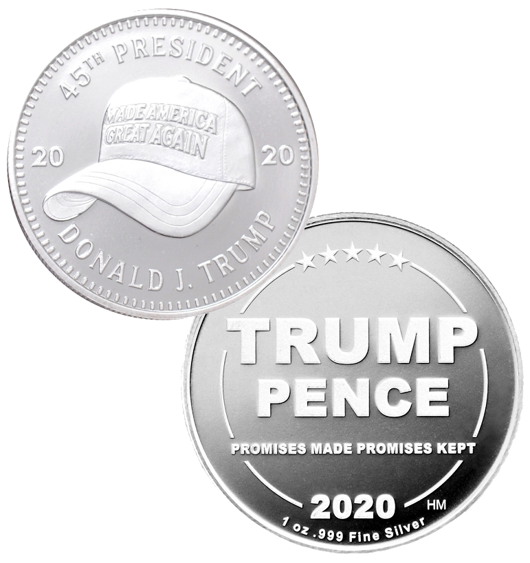 our MAGA hat coin is the prefect addition to any trump coin collection