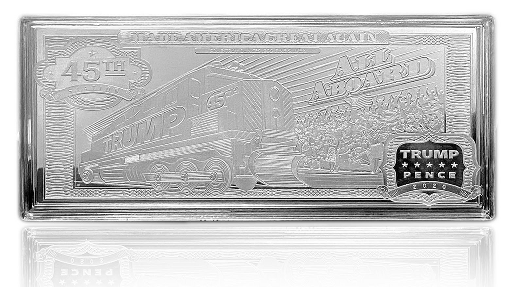 Trump Train 4oz Silver Bar