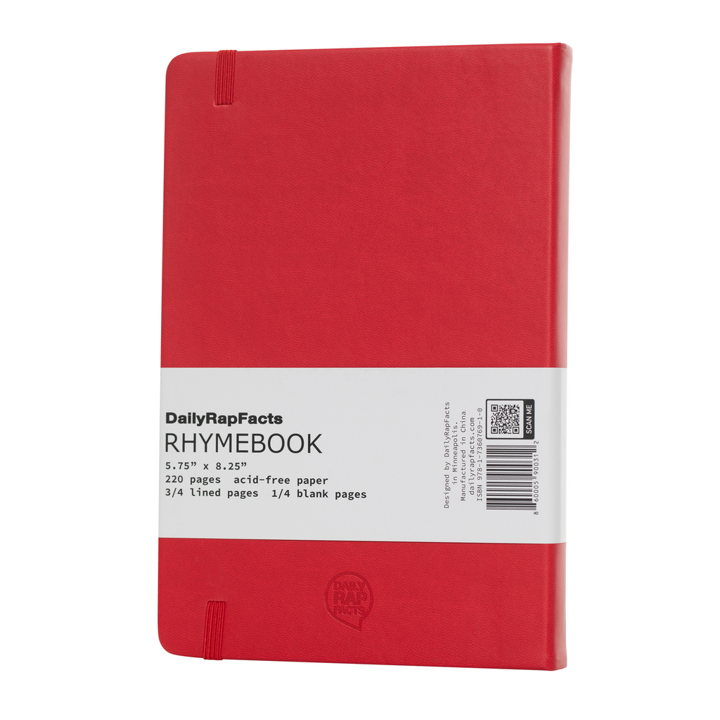 RED RHYME BOOK BACK