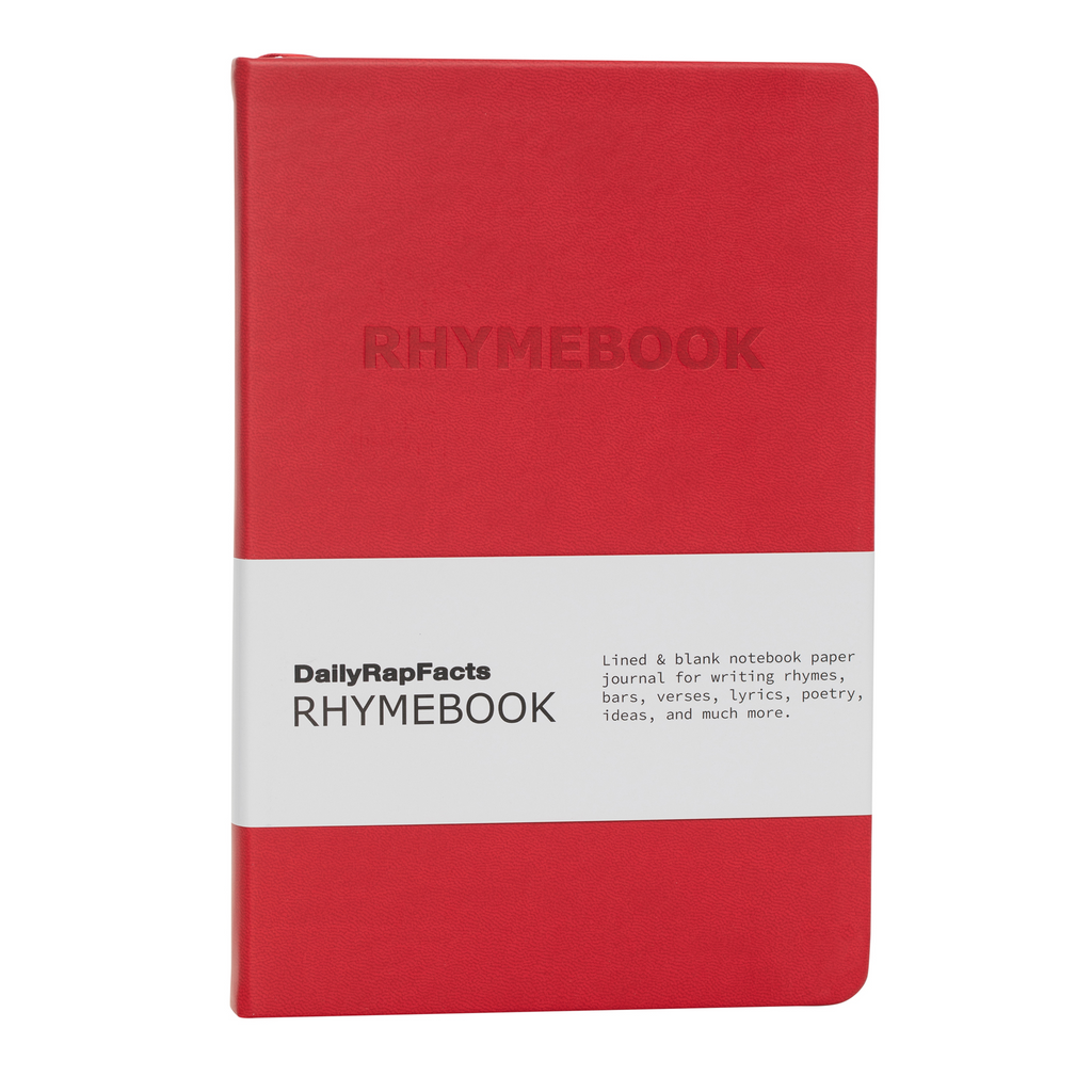 red rhymebook front