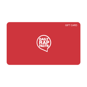 DailyRapFacts Store Gift Card