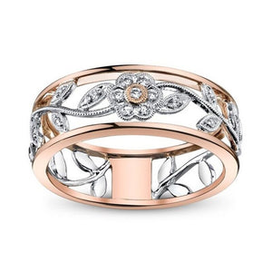 Modyle Charms Rose Gold Color Sun Flower Ring