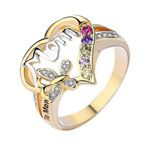 Birthday Day Mother's Gift Mom Ring