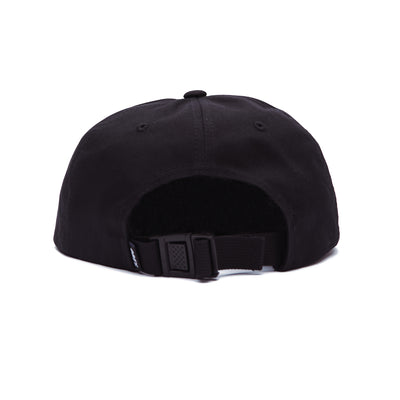 HATRED 6 PANEL STRAPBACK BLACK | OBEY Clothing