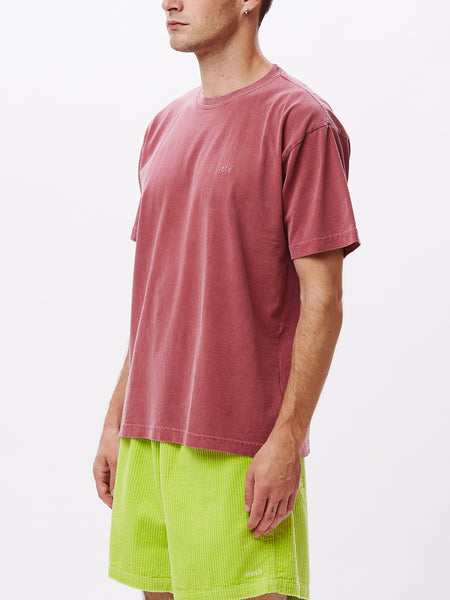JUMBLE III PIGMENT SS TEE CASSIS | OBEY Clothing