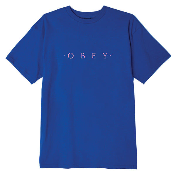 NOVEL OBEY BASIC TEE ROYAL | OBEY Clothing