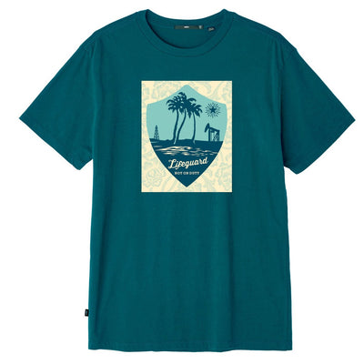LIFEGUARD NOT ON DUTY SUPERIOR TEE ROYAL TEA | OBEY Clothing