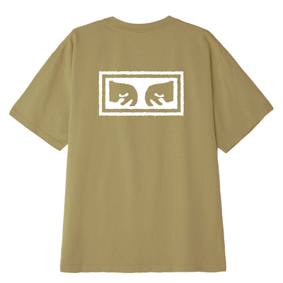OBEY EYES 3 HEAVYWEIGHT BOX TEE ALMOND | OBEY Clothing