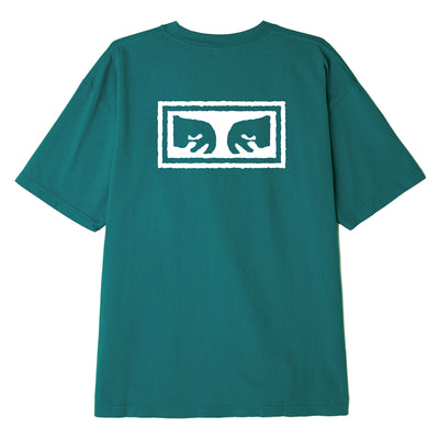 OBEY EYES 3 HEAVYWEIGHT BOX TEE JADE | OBEY Clothing