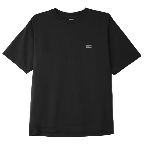 OBEY EYES 3 HEAVYWEIGHT BOX TEE OFF BLACK | OBEY Clothing