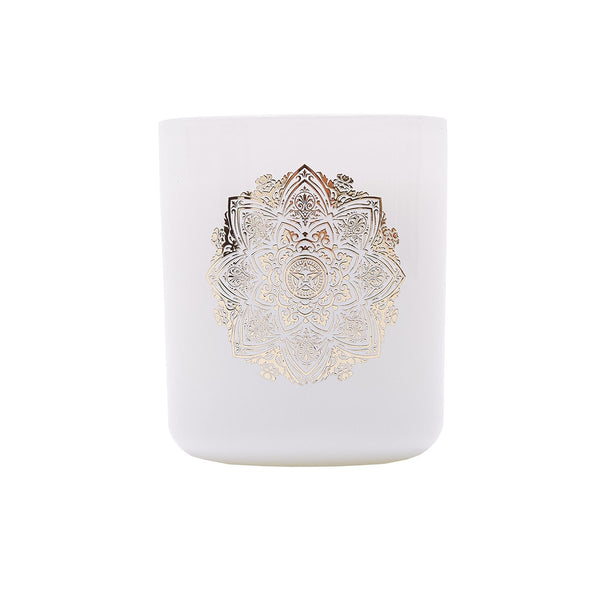 OBEY MANDALA CANDLE WHITE | OBEY Clothing