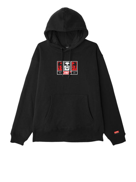 OBEY 3 FACES 30 YEARS HOODIE | OBEY Clothing
