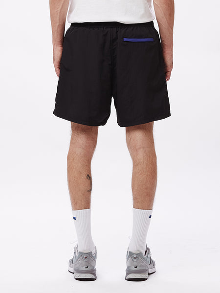 EASY RELAXED TREK SHORT BLACK | OBEY Clothing