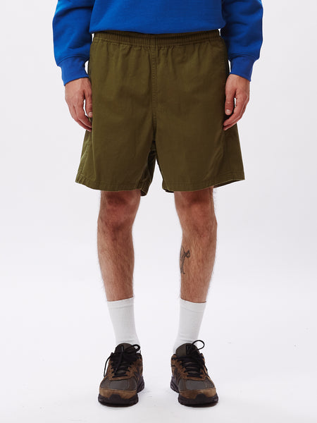 IDEALS ORGANIC EASY SHORT ARMY | OBEY Clothing