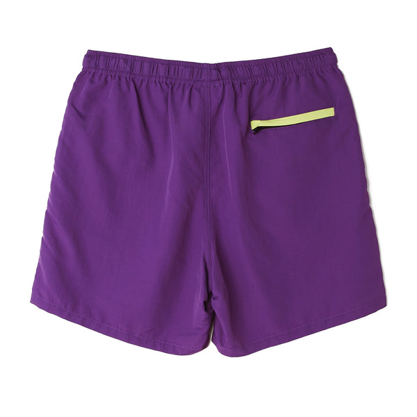 EASY RELAXED TREK SHORT PURPLE | OBEY Clothing