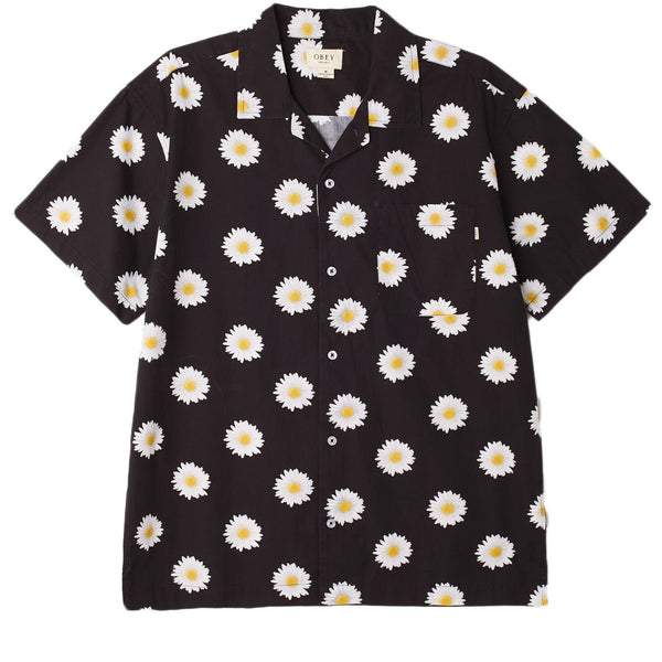 IDEALS ORGANIC DAISY WOVEN BLACK MULTI | OBEY Clothing