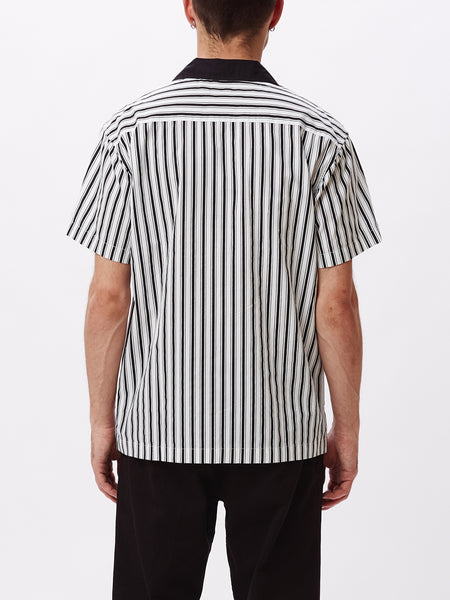 IDEALS ORGANIC STRIPED WOVEN BLACK MULTI | OBEY Clothing